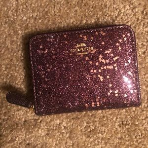 Coach glitter collection wallet